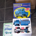 Daiyo made in Japan Truck Assembly set Battery Operated large truck 70's boxed